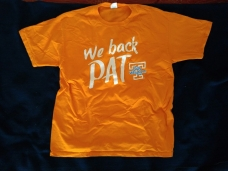 Thank you Algers, for being in Tennessee the day it after Coach Summitt's announcement and buying me this shirt.